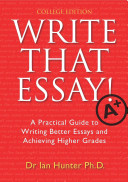 Write That Essay  Tertiary Edition