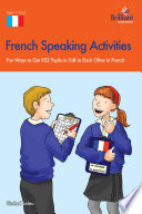 French Speaking Activites (KS2)