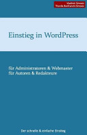 Einstieg In Wordpress 3 8