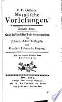 Saemtliche schriften des hernn C.F. Gellerts
