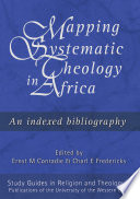 Mapping Systematic Theology in Africa