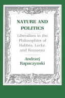Nature and Politics