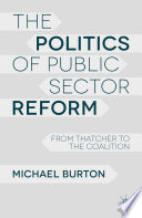 The Politics of Public Sector Reform