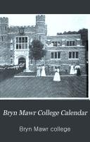 Bryn Mawr College Calendar