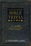 The Good Book Bible Trivia