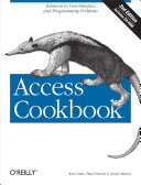 download ebook access cookbook pdf epub