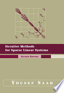Iterative Methods For Sparse Linear Systems book