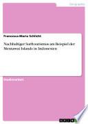 Nachhaltiger Surftourismus Am Beispiel Der Mentawai Islands In Indonesien