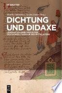 Dichtung und Didaxe