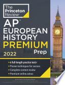 Princeton Review Ap European History Premium Prep 2022