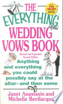 The Everything Wedding Vows Book