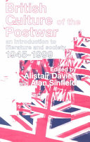 British Culture of the Postwar