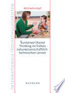 Sustained Shared Thinking im frühen naturwissenschaftlich-technischen Lernen