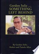 Gordon Solie     Something Left Behind