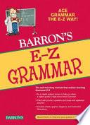 Barron s E Z Grammar