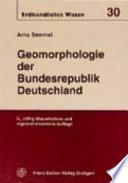 Geomorphologie der Bundesrepublik Deutschland