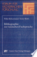 Bibliographie zur russischen Fachsprache