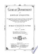 Gems of Deportment and Hints of Etiquette