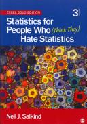 Bundle Salkind Statistics for People Who  Think They  Hate Statistics Excel 2010 Salkind Statistics for People Who  Think They  Hate Statistics Electronic Version Excel 2010