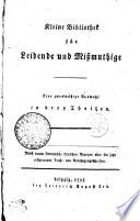 Kleine Bibliothek F R Leibende Und Mi Muthige