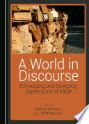 Ebook A World in Discourse Epub Sydney Morrow,Matthew Izor Apps Read Mobile