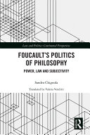 Foucault's Politics of Philosophy