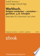 Werkbuch. Religion entdecken – verstehen – gestalten. 5./6. Schuljahr