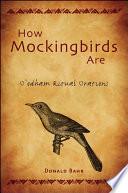 how mockingbirds are