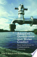 Adaptive Governance And Water Conflict