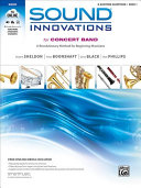 Sound Innovations for Concert Band E Flat Baritone Saxophone Book 1