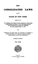 The Consolidated Laws of the State of New York Book PDF