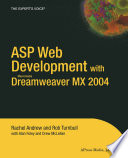 ASP Web Development with Macromedia Dreamweaver MX 2004