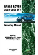 Range Rover 2002 2005 My Workshop Manual