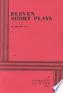 Eleven Short Plays by William Inge
