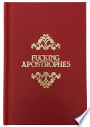 Fucking Apostrophes