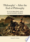 Philosophy      After the End of Philosophy