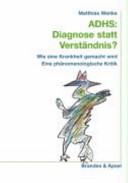 ADHS: Diagnose statt Verständnis?