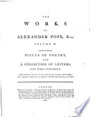 Poetry And Letters 1807