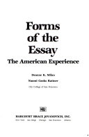 Forms of the essay