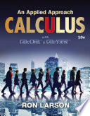 Calculus  An Applied Approach