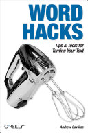 download ebook word hacks pdf epub