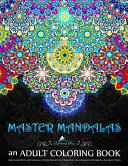 Master Mandalas Adult Coloring Book
