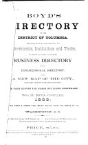 Boyd s Directory of the District of Columbia