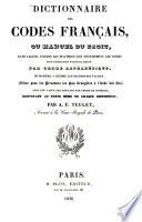 illustration Dictionnaire des Codes Français ou Manuel du Droit