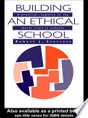 Building An Ethical School Education And Responds To Sceptics Who Say