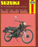 Suzuki 100 125 185   250 Air cooled Trail Bikes
