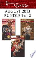 Harlequin Desire August 2013   Bundle 1 of 2