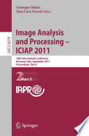 Image Analysis and Processing    ICIAP 2011
