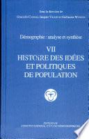 Histoire des idées et politiques de population