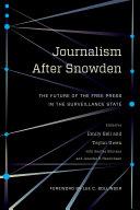 download ebook journalism after snowden pdf epub